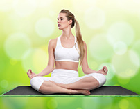 """Retoque fotográfico """"Meditación yoga"""""""