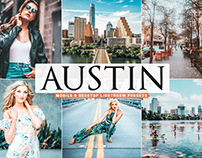 Free Austin Mobile & Desktop Lightroom Presets