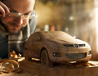 Mazda — Woodworker + making of