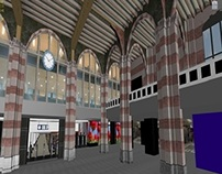 Amsterdam Central Station 3D