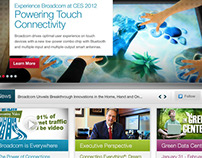 Broadcom: Site Redesign