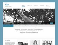 Koan, Joomla Minimal Business Portfolio Template