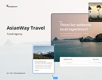 Asianway Travel Website - Trip Planner