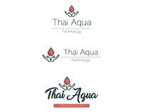Thai Aqua Technology company logo design
