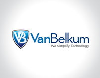 Logo design concepts for Van Belkum