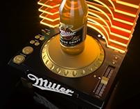 Miller beer POSm