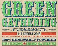 Green Gathering poster