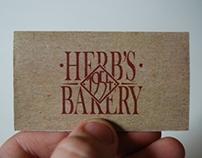 Rebranding- Herb's Bakery
