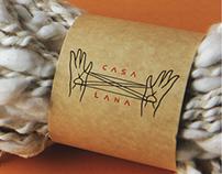 Casa Lana graphic identity