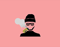 Motion Graphic - Smoking Evolution