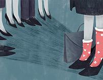 Editorial Illustration- Baby Faced