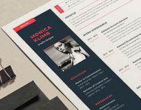 Modern Resume/Cover Letter Template