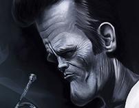 Chet Baker Caricature
