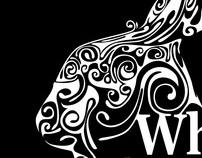 "Logo White Rabbit ""restaurant & bar"""