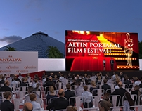 54. Int. Antalya Film Fest, Open air ceremony concpt