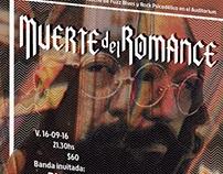 Muerte del Romance Flyer