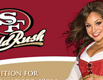 SF 49ers Gold Rush Information Brochure