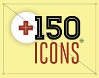 +150 ICONS
