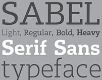 Sabel - Typeface