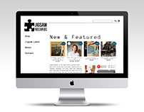 Jigsaw Records Website Re-design