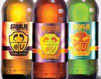 Salvaje Beer Labels