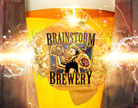 Brainstorm Brewery Artwork