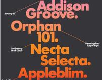 Apple Pips poster / flyer