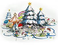 Christmas 圣诞节美陈概念设计