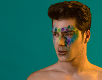Male and MakeUp by Iris Encina
