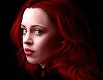 Fae color portrait