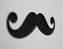 Moustaches (birthday gift)