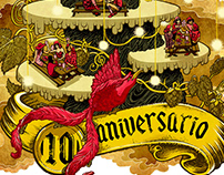 La Legendaria Anniversary posters