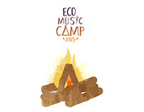 Eco Music Camp - Tshirt