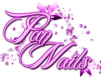 Pan Nails Logo