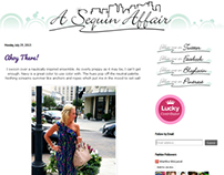 A Sequin Affair Logo & Style