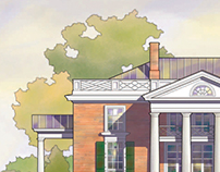 Millfield Jeffersonian House Rendering