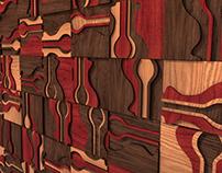"Decorative panels - ""Sea life"""