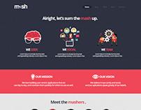 Mash Website Redesign