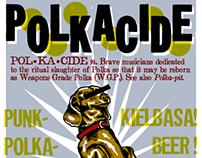 Polkacide Band Poster