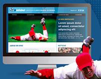 Jrbéisbol, web site