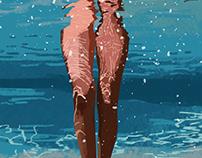 ocean lover* | illustration set