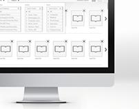 Desktop Internal Tool Design