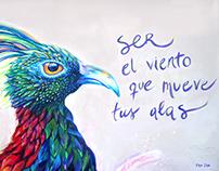 ARTE DE SER. Mural
