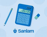 Sanlam Money Saver credit card.