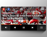 NPR Mini Player
