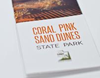 Coral Pink Sand Dunes pamphlet