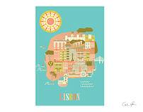 Lisbon City illustration