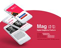 Mag | Digital Magazine Platform | React Native