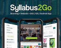 Syllabus 2Go: Branding + OSX & IOS App