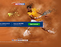 Betfred Tennis French Open LP's & Banners